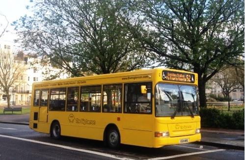 52 bus - Brighton