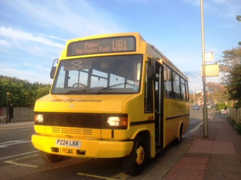 Route UB1 Bus Brighton