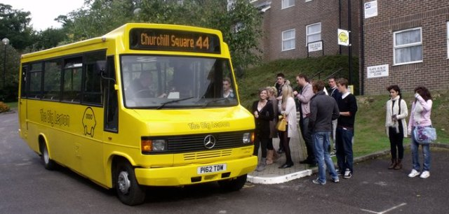 In September 2010 we launched a brand new route. It serves Varley Halls residents and gives them the only dedicated shuttle to the centre of Brighton